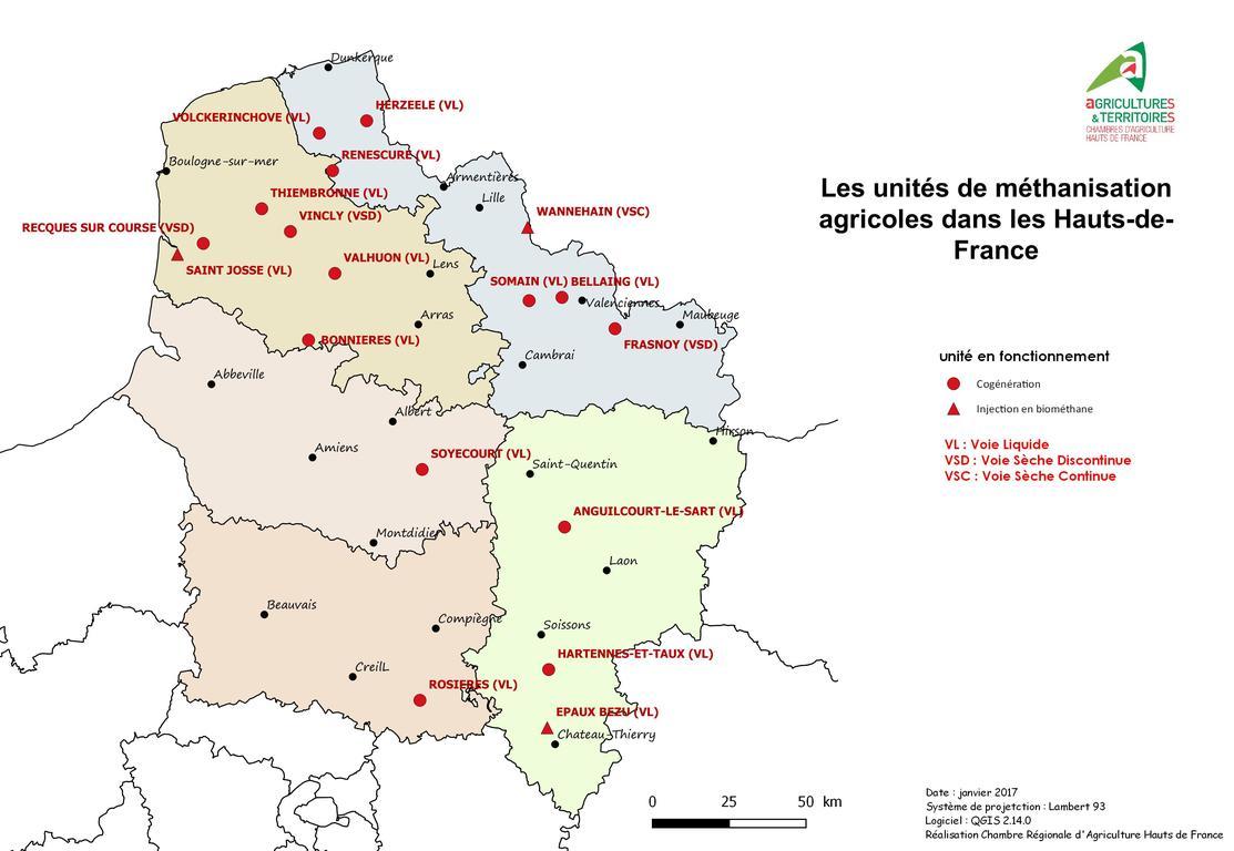 M thanisation chambres d 39 agriculture de picardie - Chambre d agriculture de picardie ...