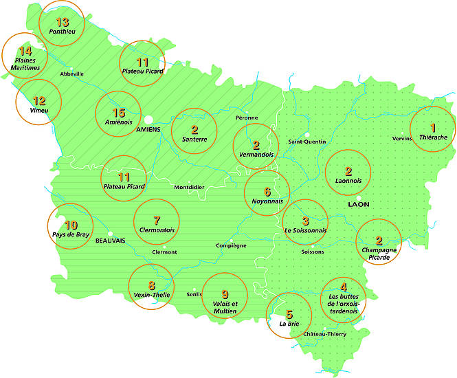 Paysages de picardie chambres d 39 agriculture de picardie for Chambre agriculture nord