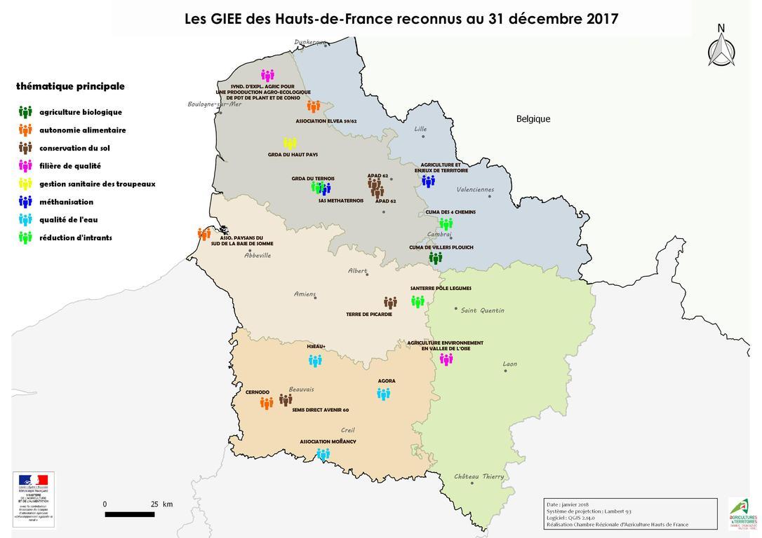 Giee hauts de france chambres d 39 agriculture de picardie for Chambre en france