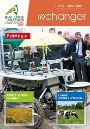 Echanger juillet 2016 hauts de france for Chambre agriculture nord